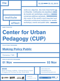 _Making Policy Public_ at the Lisbon Architecture Triennale