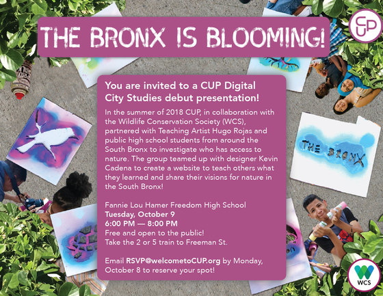 _The Bronx is Blossoming!_ Debut Presentation