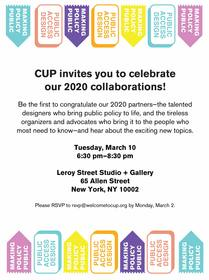 Celebrate CUP's 2020 Collaborations